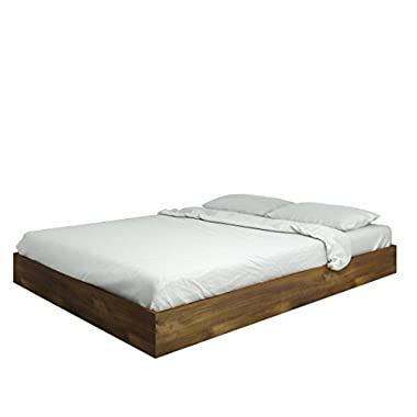 Nocce Queen Size Bed 401260 from Nexera, Truffle