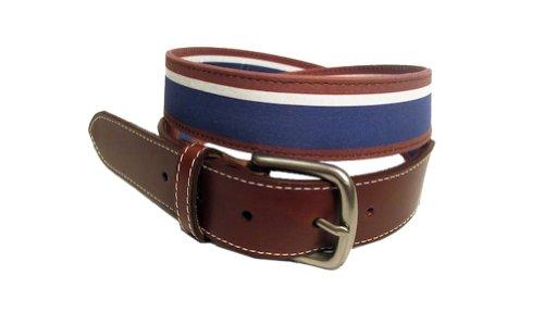 Venture Belt Men's The Mulligan-40-Maroon, White and Blue