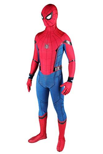 Superhero Kid Spandex Suit Halloween Cosplay Costume Teens Lycra Bodysuit XL