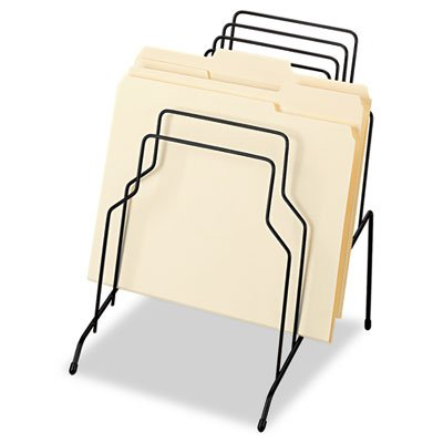 Desktop Pocket 8 Organizer Letter (Step File, Eight Sections, Wire, 10 1/8 x 12 1/8 x 11 7/8, Black, Sold as 1 Each)
