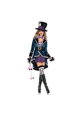 Leg Avenue Women's Delightful Hatter Costume