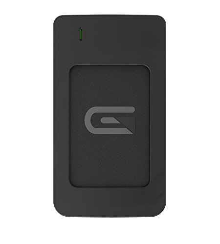 Glyph Atom RAID Black, 1TB SSD, USB-C (3.1, Gen 2), USB 3.0, Compatible with Thunderbolt 3 by Glyph