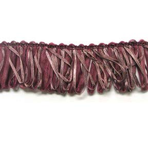 Loop Ribbon Fringe Trim Mauve Multi ()