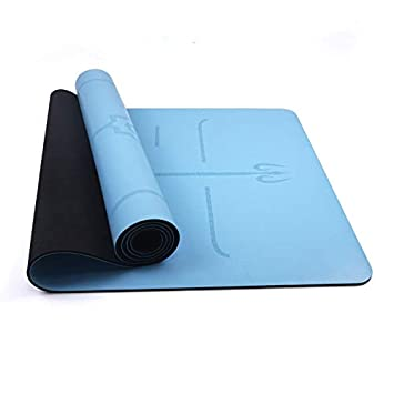 Amazon.com: WUJIEXIAN-JI Travel Yoga Mat Portable Non-Slip ...