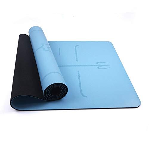 Viajes Yoga Mat Mat portátil yoga antideslizante con la ...