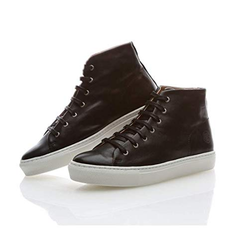 Steve Donna Sneaky Jervis Sneakers Alta Da Nero 6qwZxBwC