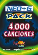 NEO+G Karaoke Pack with 4000 Spanish Songs ()