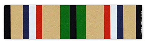 MFX Design Bumper Sticker - Desert Storm War Service Ribbon - Conflict Service Bar - 10