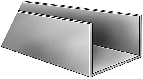 60 in 2.51 Leg PVC 0.080 in T U Channel