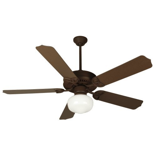 Craftmade Patio 52 Ceiling Fan (Craftmade OPXL52RI Ceiling Fan with Blades Sold Separately, 52