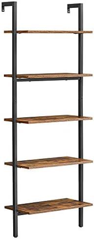 VASAGLE Industrial Ladder Shelf
