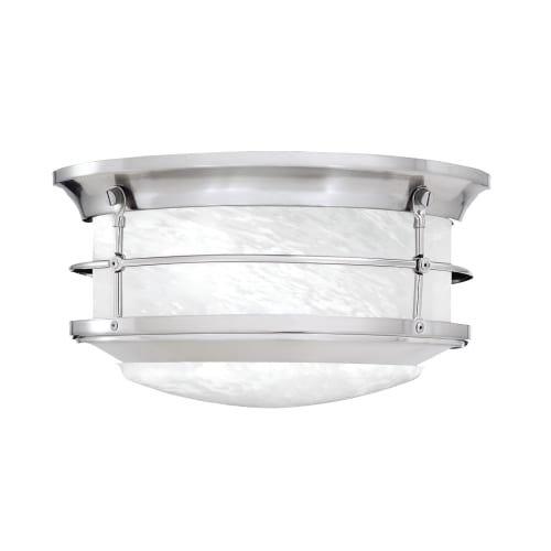 Brushed Nickel Outdoor Light Fixture - 6