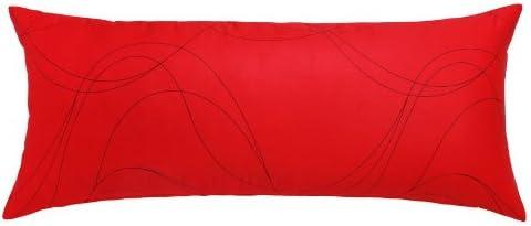 Amazon Com Silver Fern Decor Body Pillowcase 20 X 54 100 Cotton