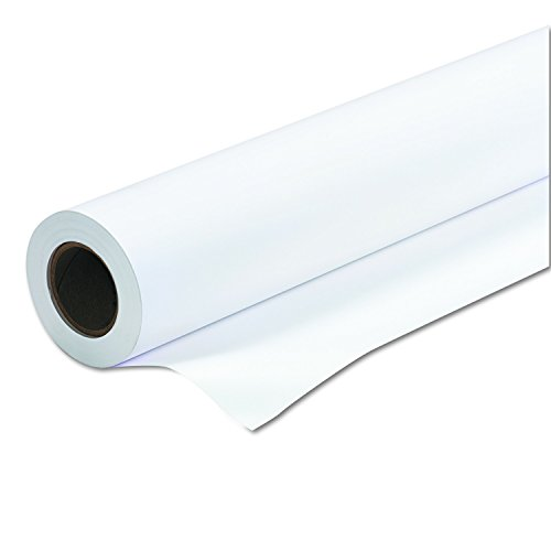 PM Company Perfection Amerigo Check 24 Wide Format Ink Jet Rolls - 24 Inches x 150 Feet - White - 1 Carton (45151)