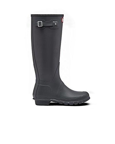 Hunter Womens Original Tall Rubber Boots Grey