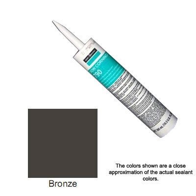 Bronze Dow Corning 790 Silicone Building Sealant - 12 Tubes (Case) by Corning