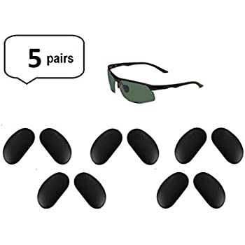 32077ec4c83 AM Landen Sunglasses Black Silicone Nose Pads Eyeglass Nose-pad Sunglasses  Nose Pads