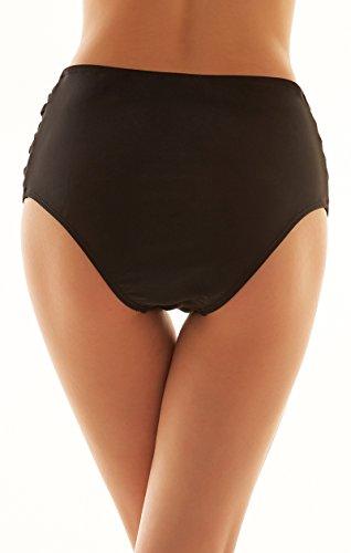 Slip XXXXL Strapped e inferiore Tanga Bikini Mutande alta Sides S Cross Briefs da donna Piscina Nuoto SHEKINI Pantaloni Costumi Plus Mare bagno Donna vita Size Sexy brasiliana Parte Sw7FqZA