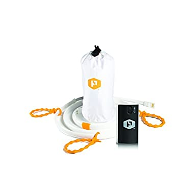 Luminoodle Plus - The Original Portable LED Light Rope + Lithium Battery Pack - Complete Camping Lantern Solution, 5 ft Outdoor String Lights, USB Battery Powered