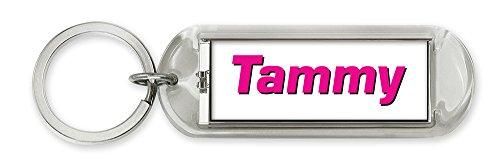 Dimension 9 Personalized Solar Flashing Keychain - Tammy (10273)