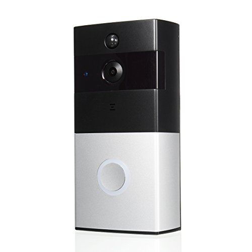 Wireless Battery WiFi Smart HD Video Doorbell Talk Night Vision Security App Control Home Applicance by OlogyMart