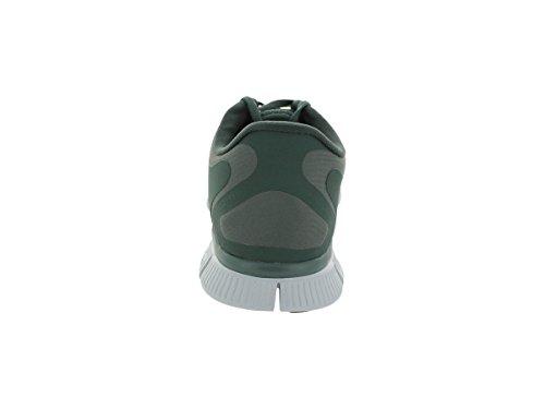 Nike Mens Free 5.0+ Breathe Scarpa Da Corsa Sintetica Dk Mc Grn / Blk / Mc Grn / Pr Pltnm