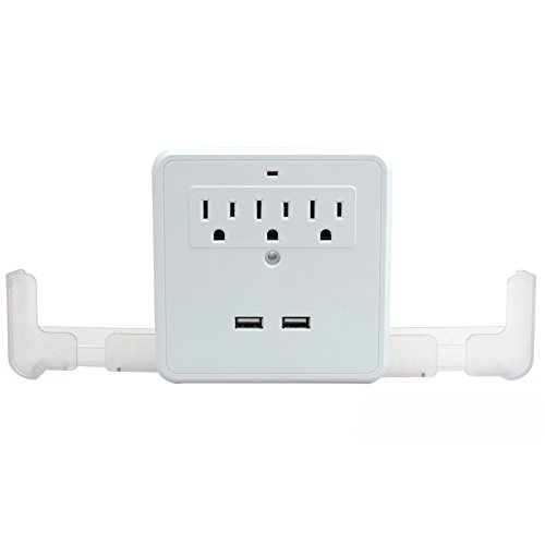 Shop Top Premium New Wall Outlet Multiplier With USB Mobile Charge Port And Mobile Phone - Outlet Shops Premium