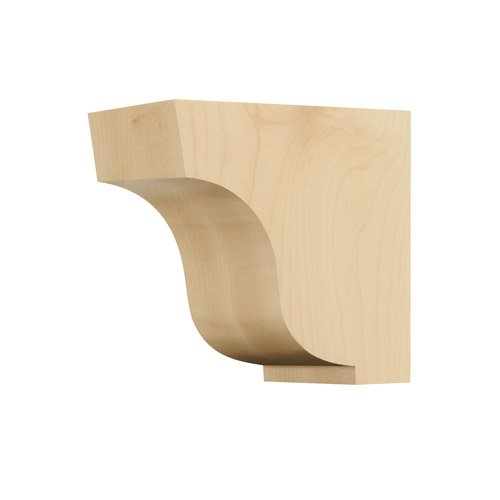 1 Simplicity Wood Corbel, Small, White Oak ()