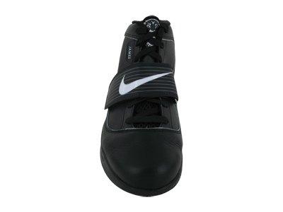 metallic Silver Max White Air Black Shoe Leather GS Kids Kid's 9 Big Nike 7aEwPq6