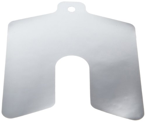 (Polyester Slotted Shim, Silver, 0.0005