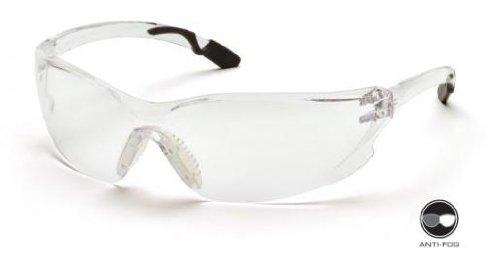 Pyramex SG6510ST Achieva Safety Glasses Gray W/ Clear Anti-Fog Lens (12 Pair) by Pyramex