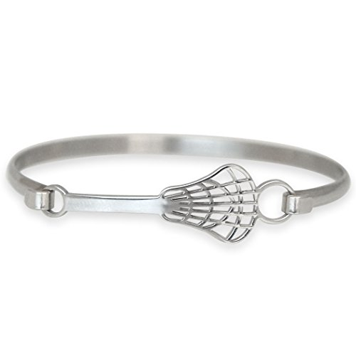 Lacrosse Bangle Bracelet | Stainless Steel | Hypo-Allergenic | Lacrosse Stick