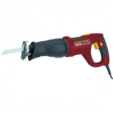 Chicago Electric 6 Amp Reciprocating Saw with Rotating Handle