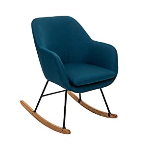 Atmosphera Rocking Chair Pera Bleu Canard