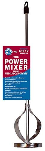 Premier 5-10 Gallon Power Mixer, Heavy-Duty Metal Hexagon 17-Inch Shaft, 3-1/4-Inch Mixer, - Metal Hexagon