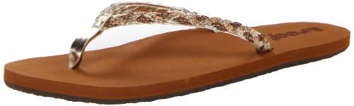 pewter Stars Flop Reef Black Sandals Reef Tan Flip Women's Twisted Champagne EqqI0