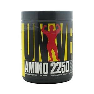 Universal Nutrition Amino 2250 100 Tab Amino Acids