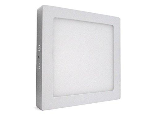 Plafoniera Quadrata Led : Plafoniera faretto led da soffitto muro parete quadrata w bianco