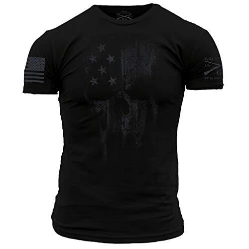 Grunt Style Spectre Reaper Men's T-Shirt, Color Black, Size XX-Large -