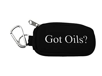 Amazon.com : Got Oils? Key-chain Essential Oil Sample Case (Purple ...