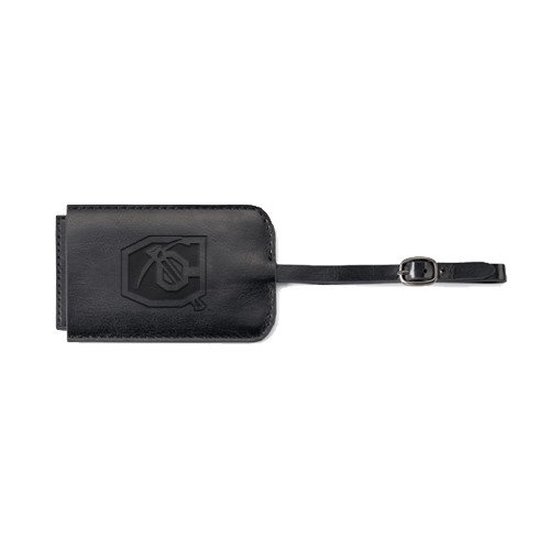 Cameron Fabrizio Black Luggage Tag 'Official Logo Engraved' by CollegeFanGear
