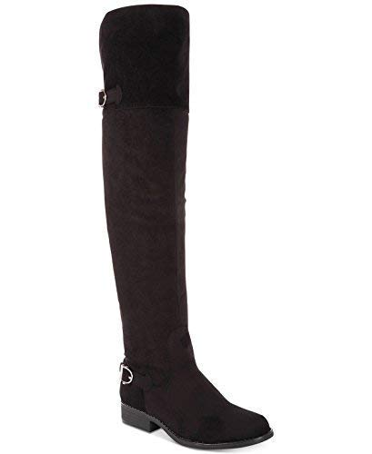 Price comparison product image American Rag Adarra Over-The-Knee Boots Black Microfiber 5M
