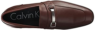 Calvin Klein Men's Lawdon Nappa Calf Leather Loafer