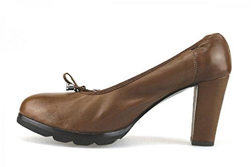 Calpierre - Zapatos de vestir de Piel para mujer Marrón marrón