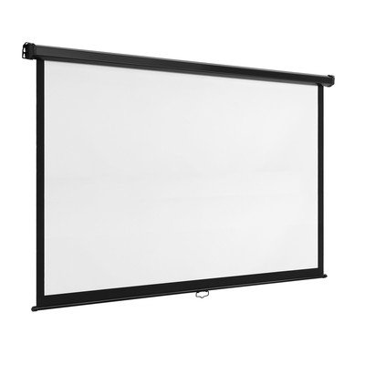 (VonHaus 80 Inch Projector Screen - Manual Pull Down - 80