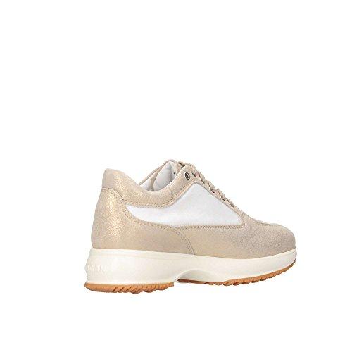 Hogan Junior Interactive H [HXC00N0418186Y4085]. Zapatillas con lentejuelas