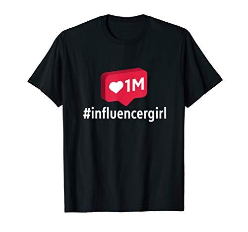Influencer TShirt Girls Women Gifts Novelty T-Shirt
