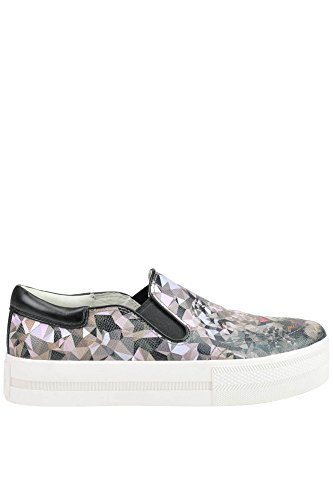 On Donna Pelle Sneakers Slip MCGLCAK03022E ASH 5qUxf410