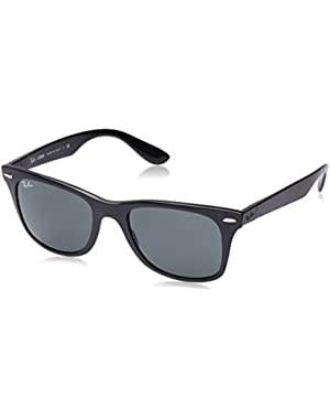 mens 0RB4195 Tech Liteforce Wayfarer Sunglasses
