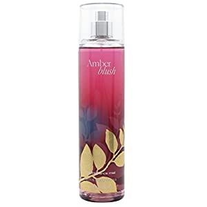 Bath and Body Works Amber Blush Fine Fragrance Mist 8 Ounce Full Size
